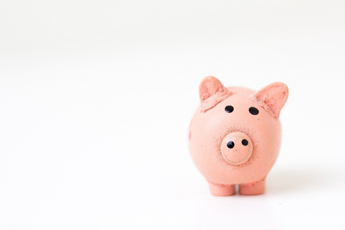 A piggybank that resembles the saving of money when e-invoicing