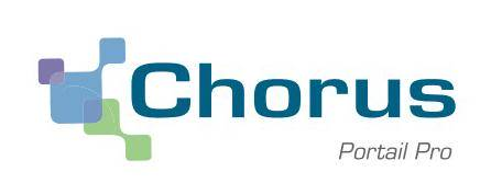 Logo of the French Chorus Pro Portal for sending e-invoices to French government